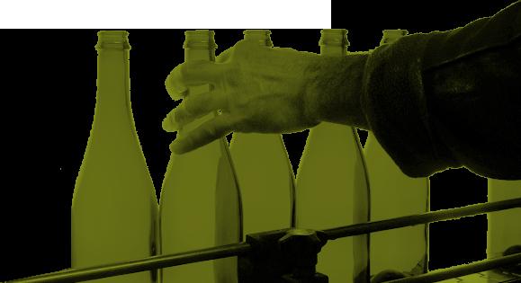 Lavage de bouteille