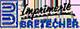 Le logo de l'imprimerie bretecher