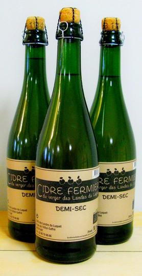 Photo de Les Landes du Luquet, membre de Bout à Bout, réseau de réemploi des bouteilles en verre en Pays de la Loire