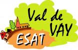 le logo de L'ESAT du Val de Vay