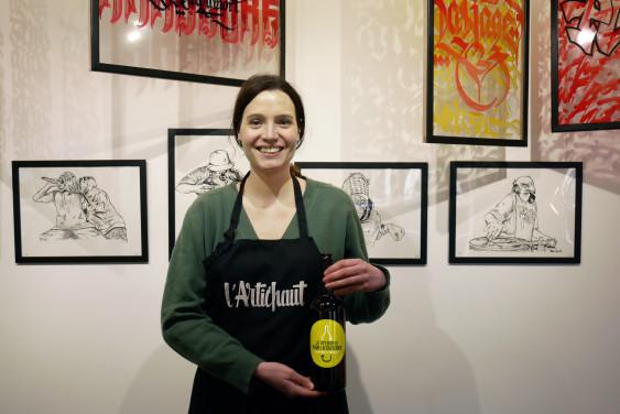 Photo de L'Artichaut, membre de Bout à Bout, réseau de réemploi des bouteilles en verre en Pays de la Loire