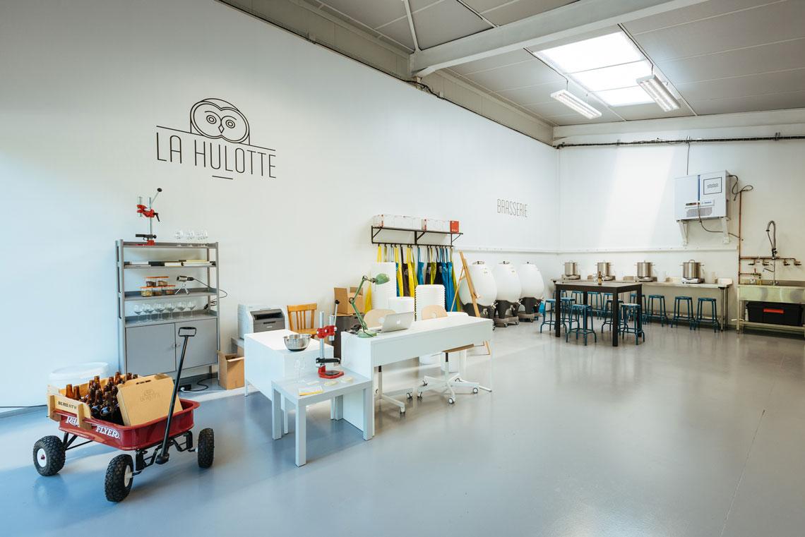 Photo de Brasserie La Hulotte, membre de Bout à Bout, réseau de réemploi des bouteilles en verre en Pays de la Loire