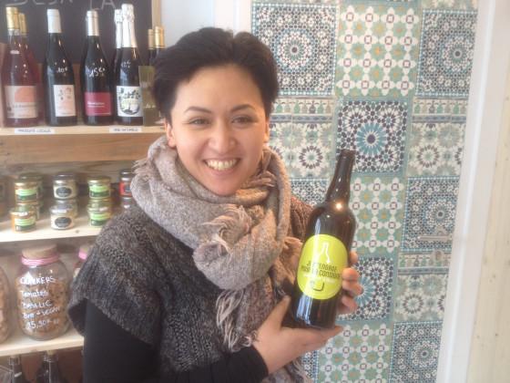 Photo de D Vrac, membre de Bout à Bout, réseau de réemploi des bouteilles en verre en Pays de la Loire