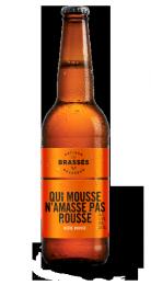 Une bouteille de la gamme de Les Brassés