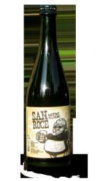 Une bouteille de la gamme de Brasserie San Rocé