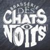 le logo de Brasserie des chats noirs