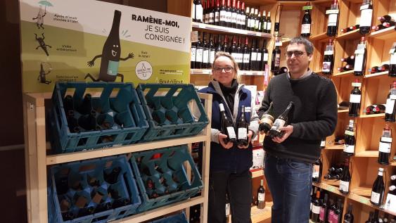 Photo de Biocoop Biocinelle, membre de Bout à Bout, réseau de réemploi des bouteilles en verre en Pays de la Loire