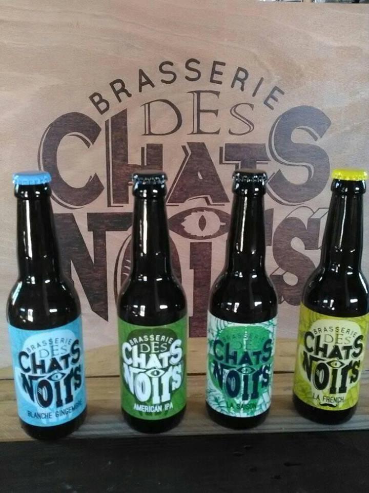 Photo de Brasserie des chats noirs, membre de Bout à Bout, réseau de réemploi des bouteilles en verre en Pays de la Loire