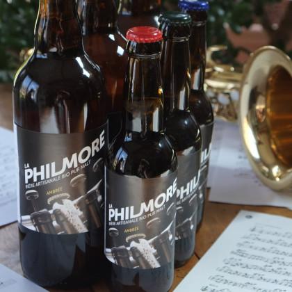 Photo de Brasserie Philmore, membre de Bout à Bout, réseau de réemploi des bouteilles en verre en Pays de la Loire
