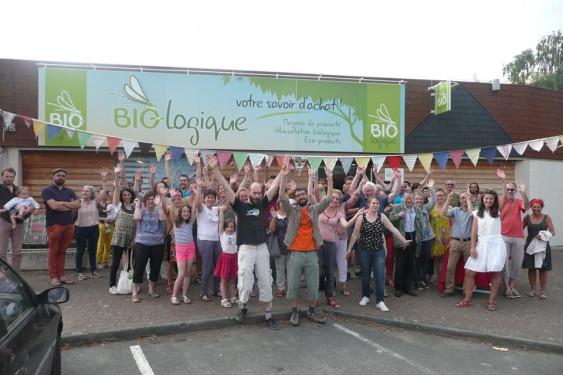 Photo de BIO-logique, membre de Bout à Bout, réseau de réemploi des bouteilles en verre en Pays de la Loire