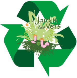 le logo de Le jardin des vers