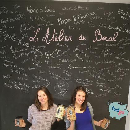Photo de L'atelier du bocal, membre de Bout à Bout, réseau de réemploi des bouteilles en verre en Pays de la Loire