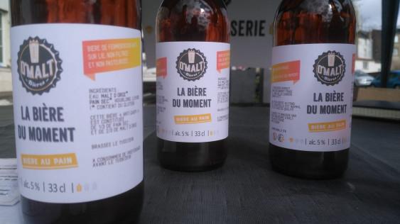 Photo de O'Malt, membre de Bout à Bout, réseau de réemploi des bouteilles en verre en Pays de la Loire