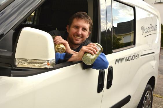 Photo de Vrac Facile, membre de Bout à Bout, réseau de réemploi des bouteilles en verre en Pays de la Loire