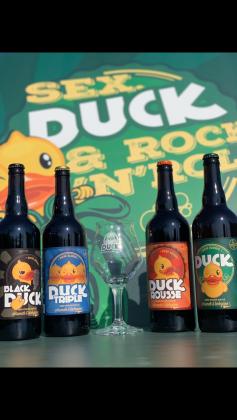Photo de La Duck, membre de Bout à Bout, réseau de réemploi des bouteilles en verre en Pays de la Loire