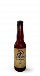 Une bouteille de la gamme de Mage Malt