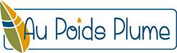 le logo de Au Poids Plume