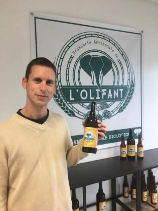 Photo de Brasserie L'Olifant, membre de Bout à Bout, réseau de réemploi des bouteilles en verre en Pays de la Loire