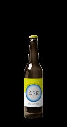 Une bouteille de la gamme de Brasserie Opé