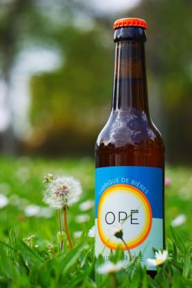 Photo de Brasserie Opé, membre de Bout à Bout, réseau de réemploi des bouteilles en verre en Pays de la Loire