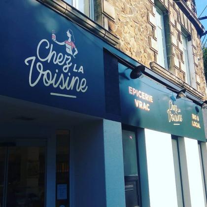 Photo de Chez la Voisine, membre de Bout à Bout, réseau de réemploi des bouteilles en verre en Pays de la Loire