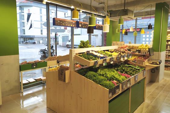 Photo de Biocoop - Nantes Cité des Congrès, membre de Bout à Bout, réseau de réemploi des bouteilles en verre en Pays de la Loire