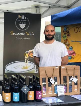 Photo de Brasserie Will's, membre de Bout à Bout, réseau de réemploi des bouteilles en verre en Pays de la Loire