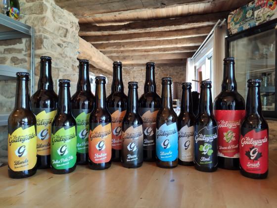 Photo de Microbrasserie La Gouleyante, membre de Bout à Bout, réseau de réemploi des bouteilles en verre en Pays de la Loire