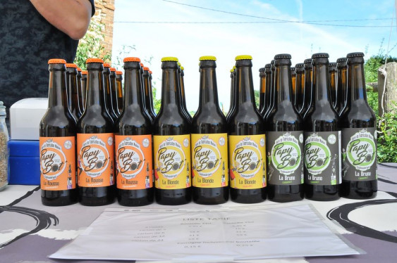 Photo de Brasserie Papybot', membre de Bout à Bout, réseau de réemploi des bouteilles en verre en Pays de la Loire