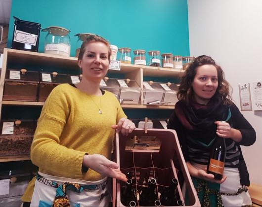 Photo de Épicerie Retz'aunée, membre de Bout à Bout, réseau de réemploi des bouteilles en verre en Pays de la Loire