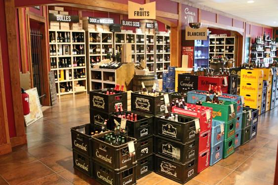 Photo de V&B Ancenis, membre de Bout à Bout, réseau de réemploi des bouteilles en verre en Pays de la Loire