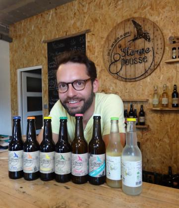 Photo de Brasserie Sterne & Mousse, membre de Bout à Bout, réseau de réemploi des bouteilles en verre en Pays de la Loire