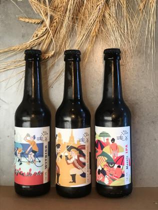 Photo de Brasserie Smeele, membre de Bout à Bout, réseau de réemploi des bouteilles en verre en Pays de la Loire