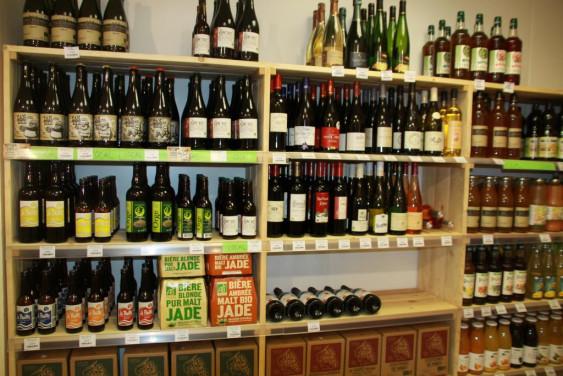 Photo de Epicerie Associative de Nozay, membre de Bout à Bout, réseau de réemploi des bouteilles en verre en Pays de la Loire