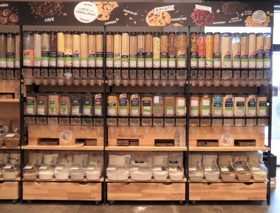 Photo de Biocoop La Chapelle, membre de Bout à Bout, réseau de réemploi des bouteilles en verre en Pays de la Loire