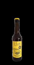 Une bouteille de la gamme de Brasserie La Louette