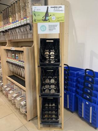 Photo de Biocoop - Le Sillon Bio, membre de Bout à Bout, réseau de réemploi des bouteilles en verre en Pays de la Loire