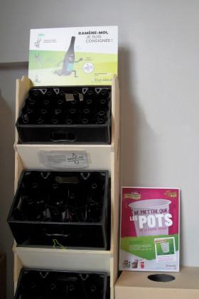Photo de Biocoop Nantes République, membre de Bout à Bout, réseau de réemploi des bouteilles en verre en Pays de la Loire