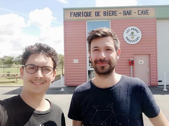 Photo de Les Papas Brasseurs, membre de Bout à Bout, réseau de réemploi des bouteilles en verre en Pays de la Loire