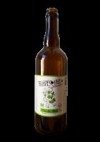 Une bouteille de la gamme de Trompe Souris – Brasserie de la Divatte
