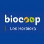 le logo de Biocoop Les Herbiers