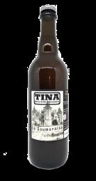Une bouteille de la gamme de Brasserie TINA