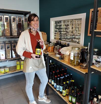Photo de Le Vrac d'Elo, membre de Bout à Bout, réseau de réemploi des bouteilles en verre en Pays de la Loire