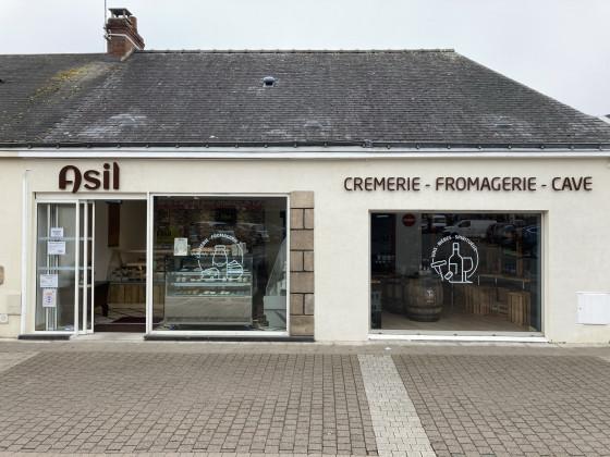 Photo de Crèmerie Asil, membre de Bout à Bout, réseau de réemploi des bouteilles en verre en Pays de la Loire