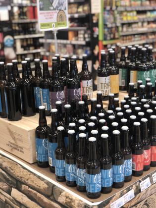 Photo de U express, membre de Bout à Bout, réseau de réemploi des bouteilles en verre en Pays de la Loire