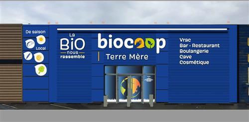 Photo de Biocoop Terre Mère, membre de Bout à Bout, réseau de réemploi des bouteilles en verre en Pays de la Loire