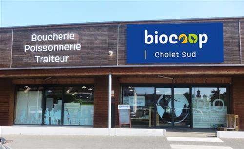 Photo de Biocoop Cholet Sud, membre de Bout à Bout, réseau de réemploi des bouteilles en verre en Pays de la Loire