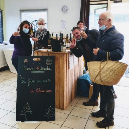 Photo de Lalouet'Coop, membre de Bout à Bout, réseau de réemploi des bouteilles en verre en Pays de la Loire