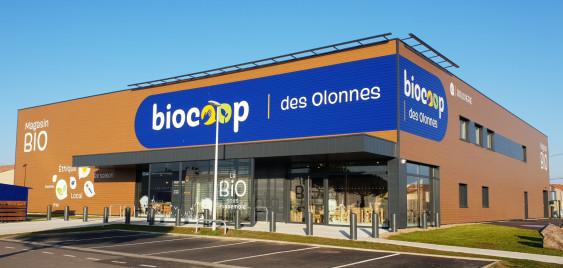 Photo de Biocoop des Olonnes, membre de Bout à Bout, réseau de réemploi des bouteilles en verre en Pays de la Loire