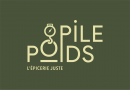 le logo de Pile Poids, L'épicerie juste